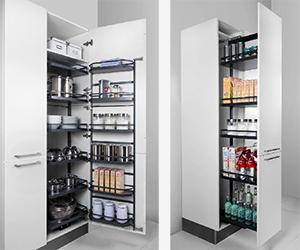 image of kitchen cupboards for blog on German kitchen design