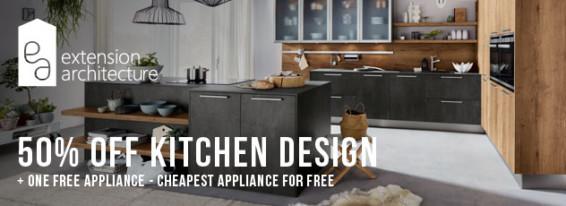 50% OFF Kitchen Design Service
