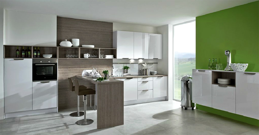 image of kitchen for blog on German kitchen design