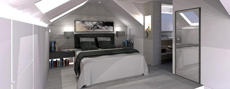 loft image in blog on Different Types of Loft Conversion