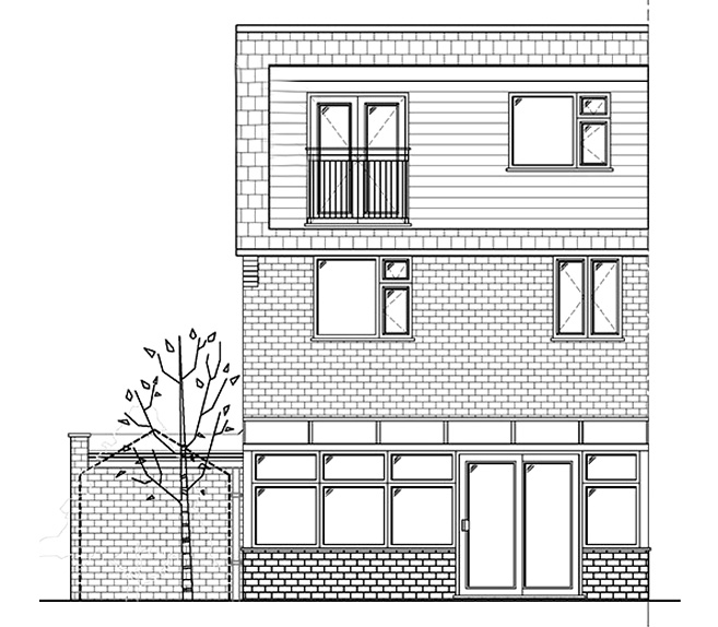 loft drawing in blog on Different Types of Loft Conversion