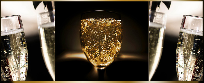 champagne image on blog on Architect Fees for Extension Work