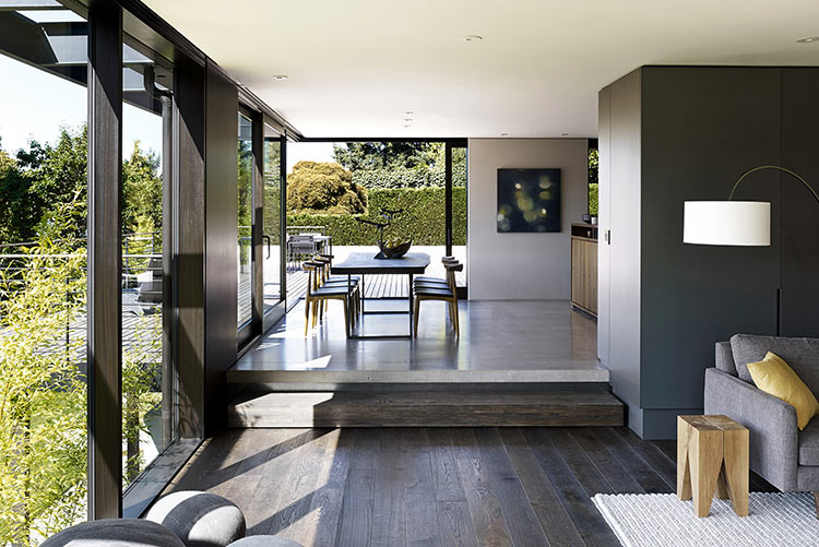 contemporary extension image on blog on Architect Fees for Extension Work