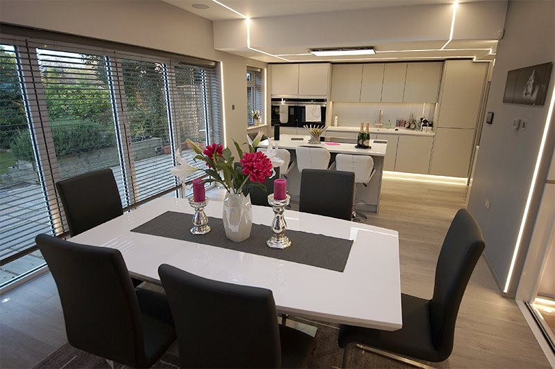 dining room image for blog on Rear Extension Ideas