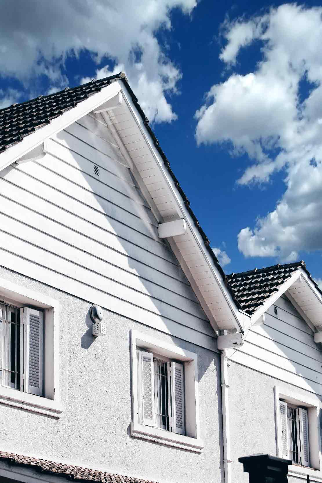photo of gables for blog on cost of loft conversions