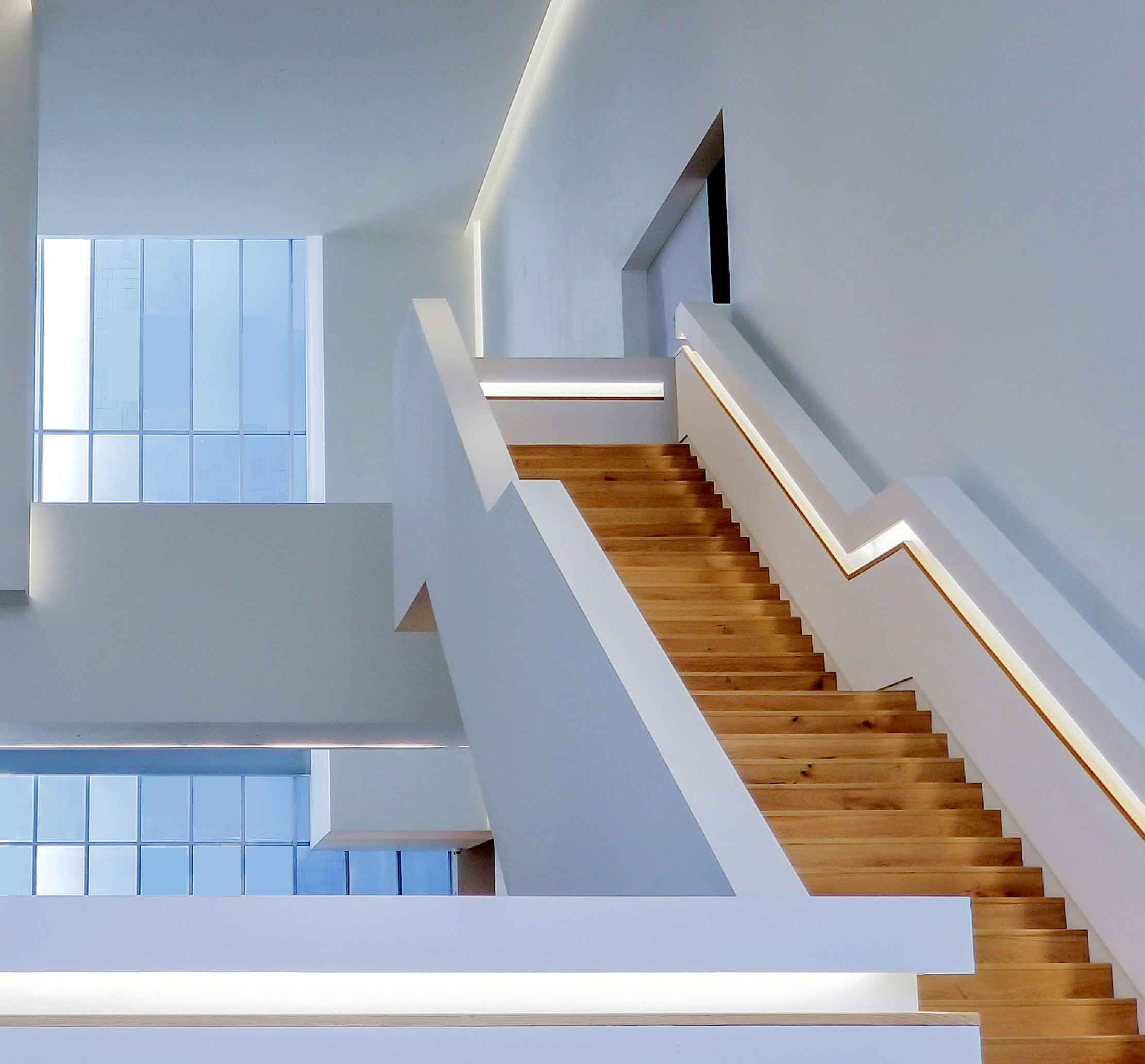 photo of upper stairwell for blog on cost of loft conversions