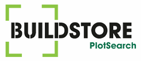 logo for build store / plot search on plot finder blog