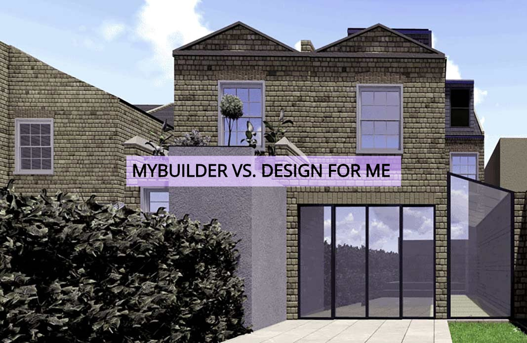 My builder vs design for me