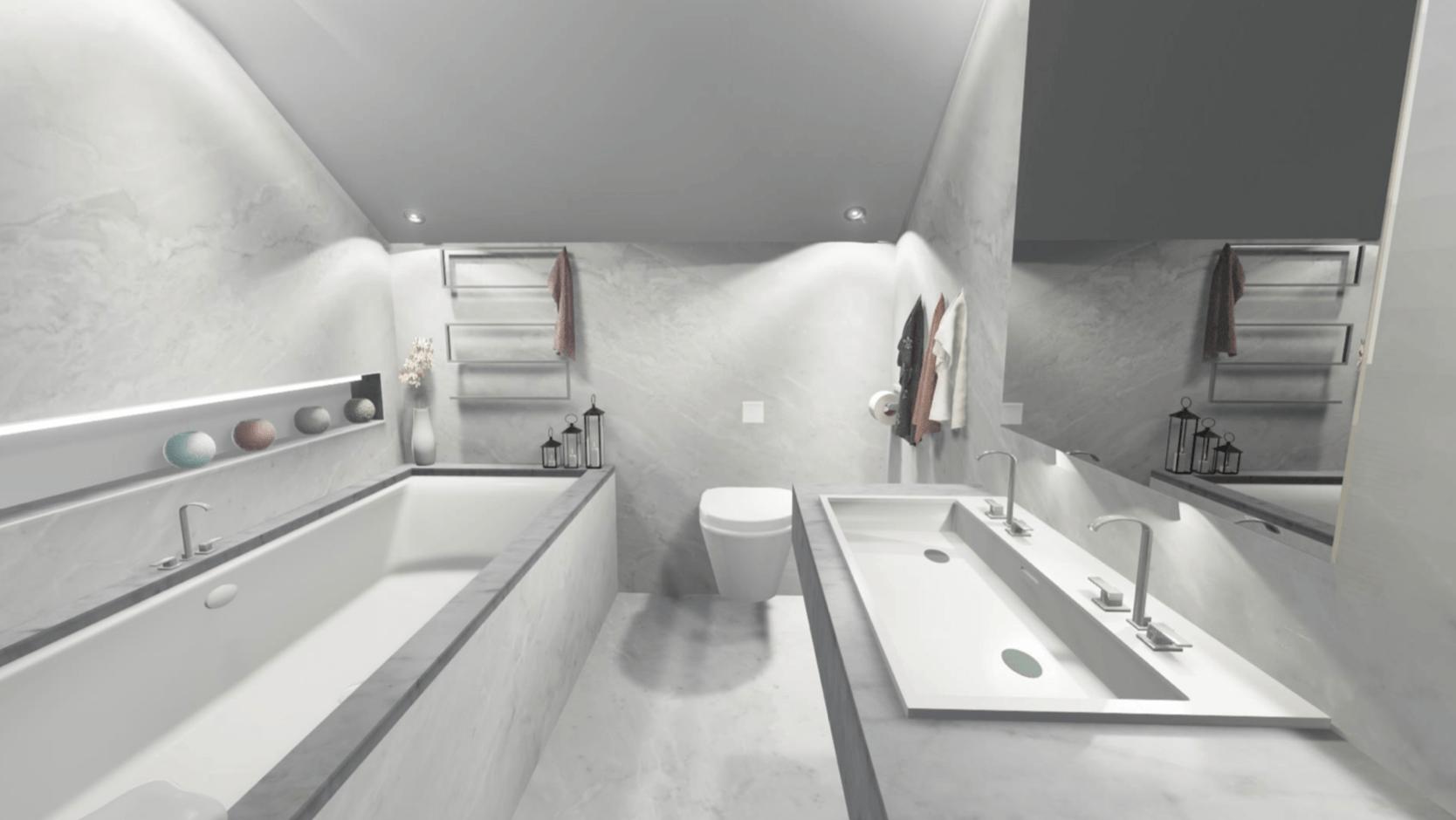 26 Lincoln Avenue New Build bathroom