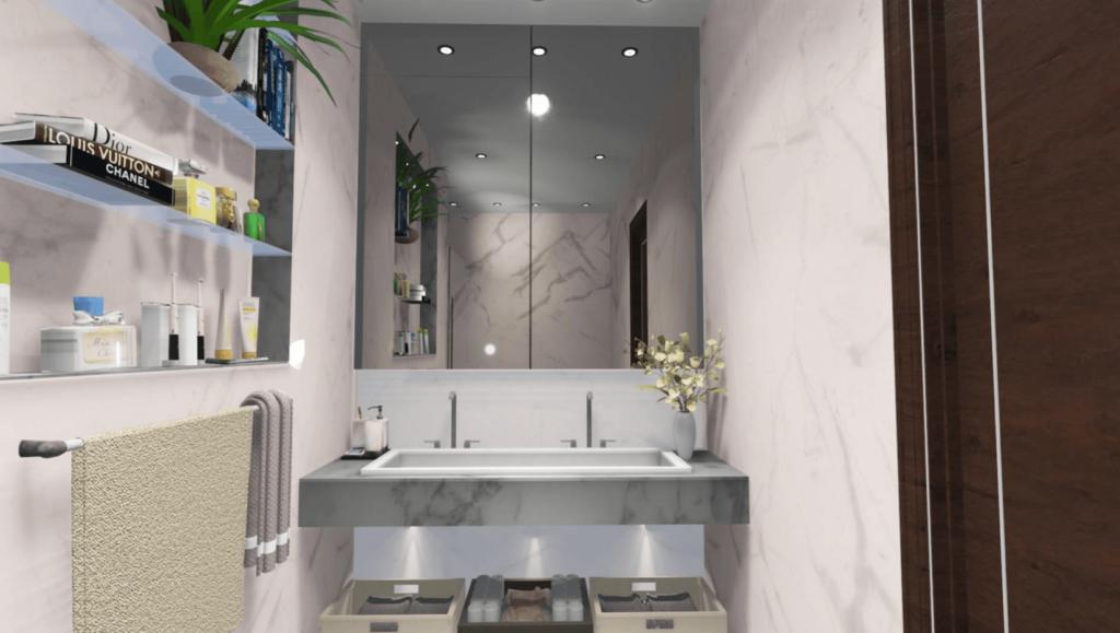 26 Lincoln Avenue New Build Second bathroom