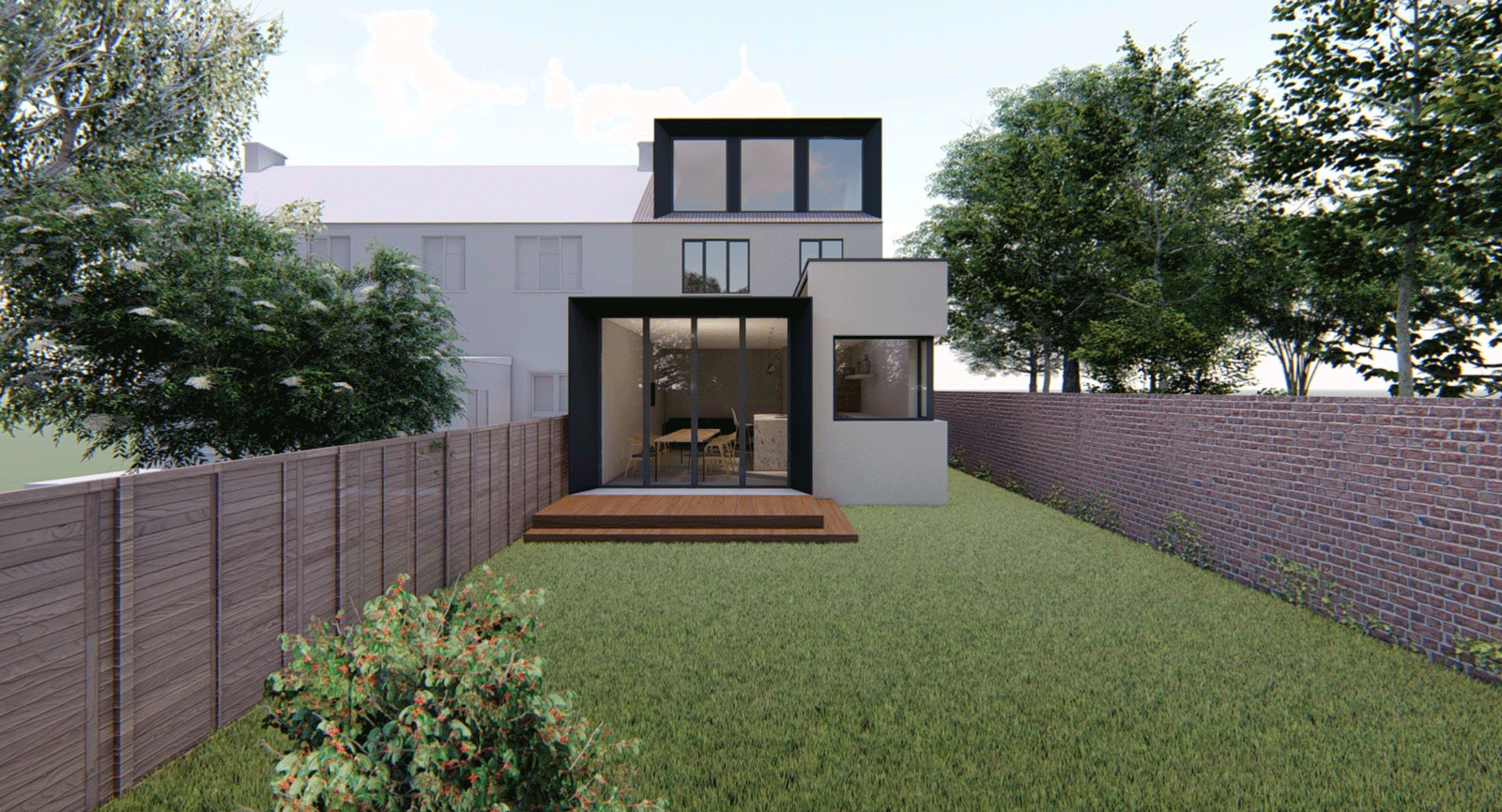 single storey extension for less than 50000