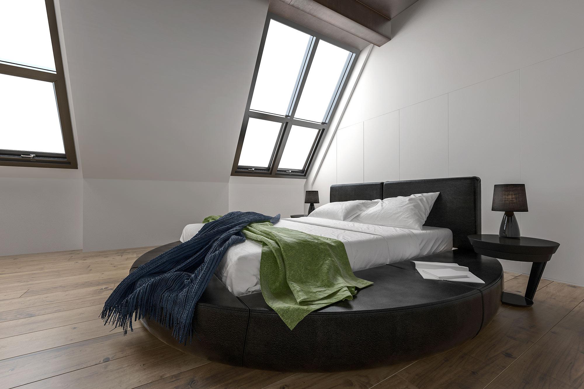 attic conversion rendering