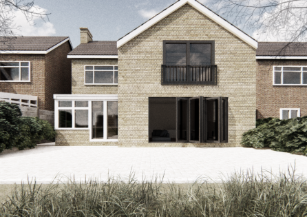 11 South Cote Road, Double Storey Extension