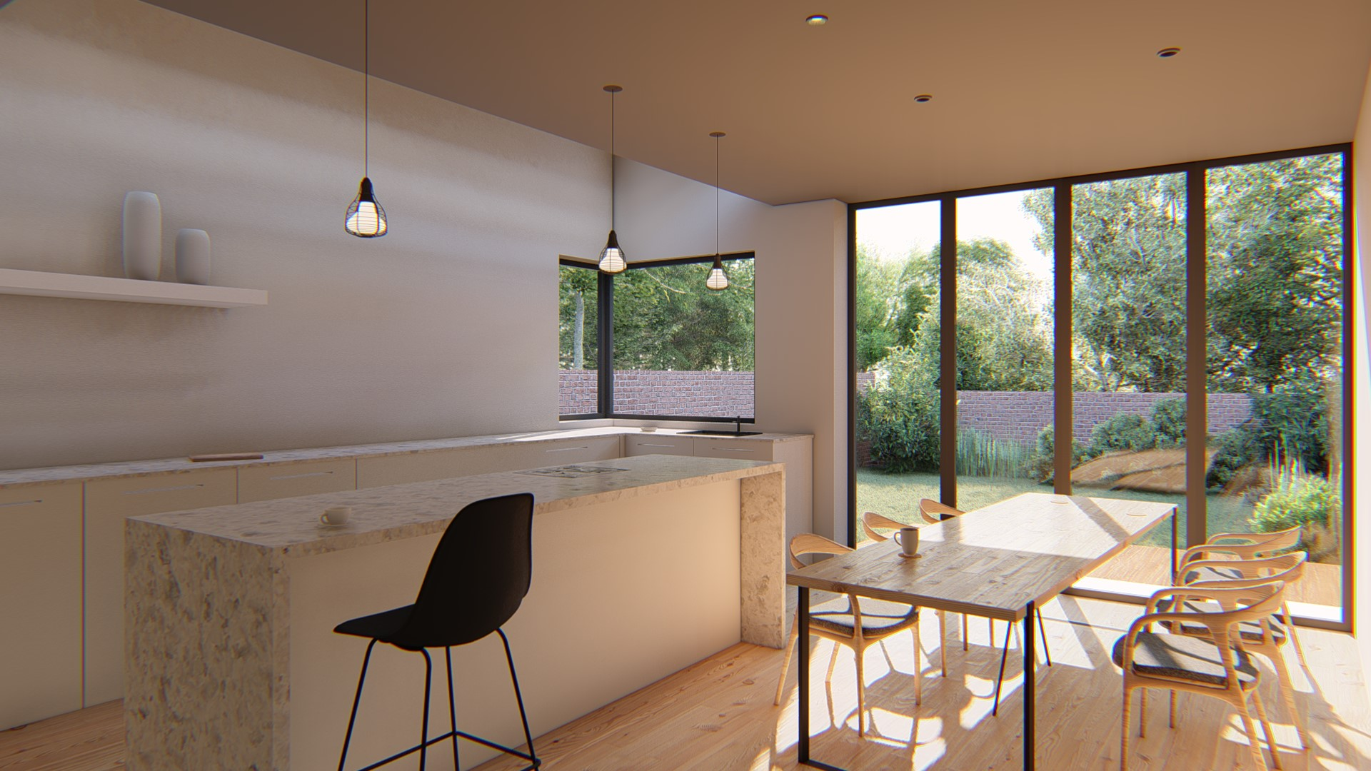 Single-Storey extension in Bromley
