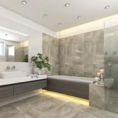 extension bathroom main