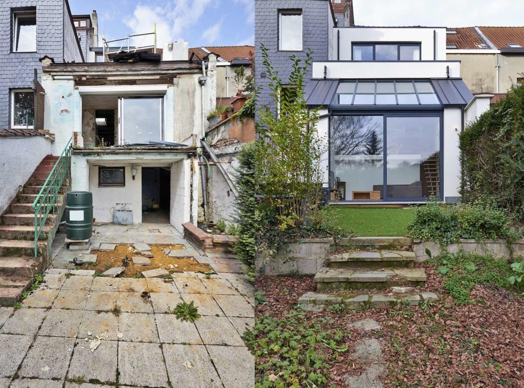 sidebyside maisonette extension